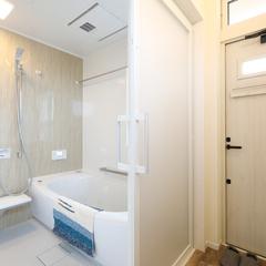 自由設計のハウスカだから出来る浴室プランです。
