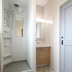 二世帯住宅の浴室事情もハウスカがご提案します。