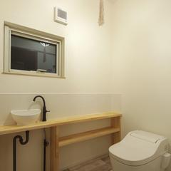 トイレもオシャレにするのがいわき市のハウスカです。