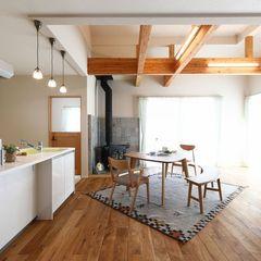 薪ストーブのある暮らし、木のぬくもりを感じられる家はいわき市のハウスカで。