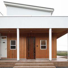 自然素材使用のシンプルなサーファーズハウスもいわき市のハウスカにお任せください。