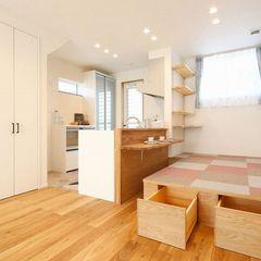 二世帯住宅もオシャレに素敵にご提案できるのもいわき市のハウスカです。