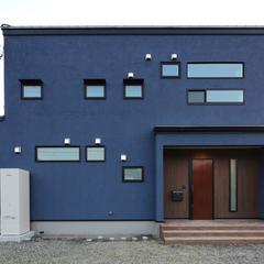 色々な塗り壁の色に対応できるハウスカだから、自分らしいお家に仕上げるお手伝いができます。
