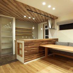 カフェのイメージでご提案したダイニング。家具もハウスカコーディネートです。