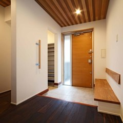 新潟県長岡市緑町 無垢の木の家 稲垣建築事務所
