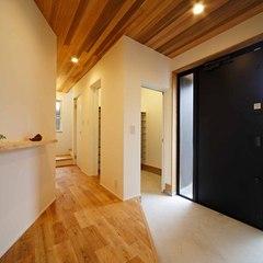 新潟県新発田市 無垢の木の家 稲垣建築事務所