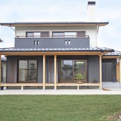 シンプルかつ上質な和モダン住宅。