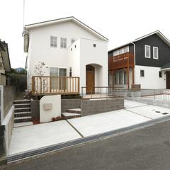 東温市田窪の箱型住宅なら愛媛県松山市のアースハウジングまで♪