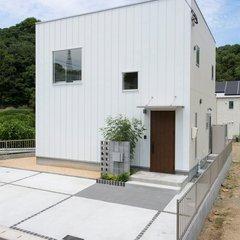 松山市会津町のキューブ型ハウスなら愛媛県松山市のアースハウジングまで♪