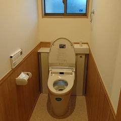 ナチュラルな2階トイレは埼玉県三郷市の恩田工務店まで!