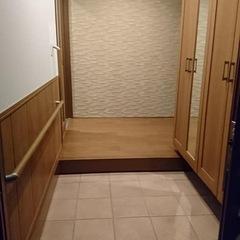 シンプルな玄関は埼玉県三郷市の恩田工務店まで!