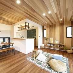 八尾市で建てる毎日お家でキャンプできるような屋上庭園があるお家