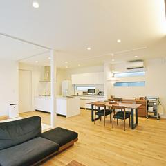 八尾市で建てるオープンキッチンがかっこいい注文住宅