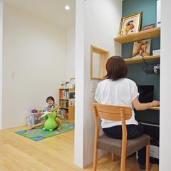 八尾市で建てるキッズスペースと書斎のあるお家