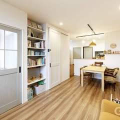 八尾市で建てる白を基調としたナチュラルな家