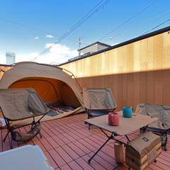 おうち時間を楽しむキャンプができる広い屋上のあるお家にリノベーション