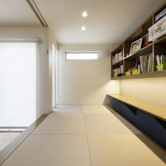 3畳の小上がり和室は勉強もお昼寝も収納もできる万能空間