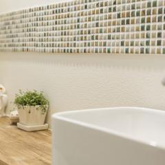 オリジナルの洗面化粧台も人気があります。千葉県我孫子市の青山都市建設!107