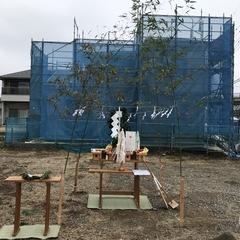 地鎮祭では土地神様を祀り、工事の無事と安全祈願、家の繁栄を祈願します 41