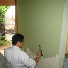 自然素材の塗り壁は、千葉県我孫子市の青山都市建設まで!56