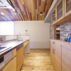 Natural Style 『ナチュラルスタイル』なキッチンは栃木県宇都宮市の川堀工務店(K-LIVING)まで!