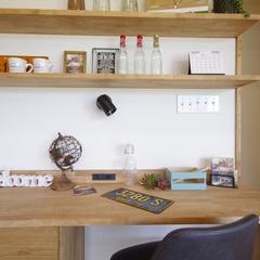 Natural Style 『ナチュラルスタイル』なワークスペースは栃木県宇都宮市の川堀工務店(K-LIVING)まで!