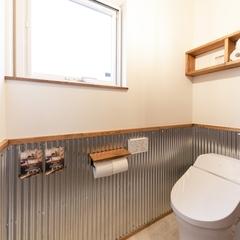 American Pop 『アメリカンポップ』なトイレは栃木県宇都宮市の川堀工務店(K-LIVING)まで!
