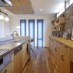 Natural vintage Style『ナチュラルビンテージスタイル』なキッチンは栃木県宇都宮市の川堀工務店(K-LIVING)まで!