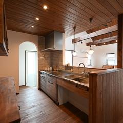 Provence Style『プロヴァンススタイル』なキッチンは栃木県宇都宮市の川堀工務店(K-LIVING)まで!