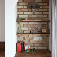 Provence Style『プロヴァンススタイル』な造作棚は栃木県宇都宮市の川堀工務店(K-LIVING)まで!