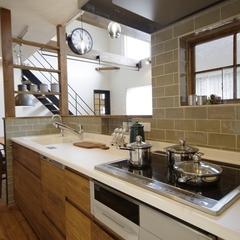Simple Casual 『シンプルカジュアル』なキッチンは栃木県宇都宮市の川堀工務店(K-LIVING)まで!