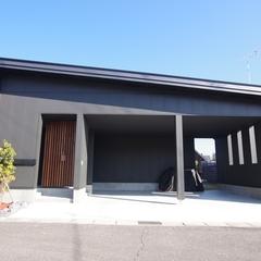 Japanese modern Style 『和モダン』なガレージハウスは栃木県宇都宮市の川堀工務店(K-LIVING)まで!