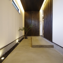 Japanese modern Style 『和モダン』なインナーポーチ玄関は栃木県宇都宮市の川堀工務店(K-LIVING)まで!