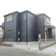 シンプルモダンな外観は神奈川県横浜市の横浜建物まで!