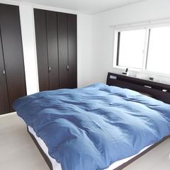 シンプルな寝室は神奈川県横浜市の横浜建物まで!
