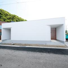 中庭のある家(シンプルノート)川島モデルハウス