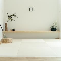 丁度いいスペースの明るい和室