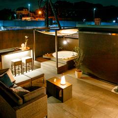 屋上庭園でリゾートのような特別な時間と暮らす