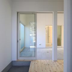 玄関はシンプルに土間がオススメ