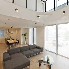 オリジナル家具で家の中までトータルコーディネート
