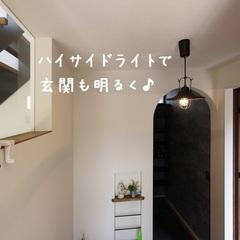 とことんシンプル×広~い玄関土間のナチュラルな家♪ ~玄関~