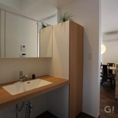 新しいのに、懐かしいもの そしてずっと続くもの TRETTIO GRAD(トレッティオグラード)洗面所