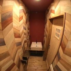 個性的なオシャレがギュッと詰まったトイレ