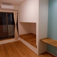 造作収納棚でアウトドア用品もたっぷり収納できちゃう注文住宅