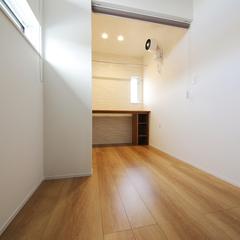 使いやすい2階家事室♪