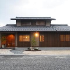 京町家風の落ち着いた外観 趣楽の家