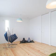2部屋に仕切ることができる子供部屋。TRETTIO GRAD(トレッティオ グラード)