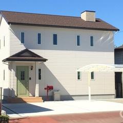 新築・注文住宅・フレンチスタイル かわいいを詰め込んだ「Jewel Box-House」