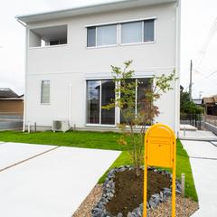 ボビの黄色いポストには北欧デザインがオススメ!規格住宅TRETTIO GRAD(トレッティオグラード)