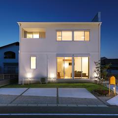 洗練されたシンプルでおしゃれな外観スタイル。北欧デザイン規格住宅TRETTIO GRAD(トレッティオグラード)